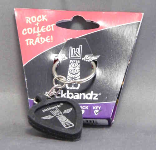 Pickbandz key chain pick holder